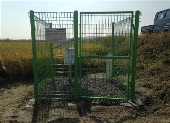 간척농지 토양 염농도 자동계측시스템 설치(석문지구)