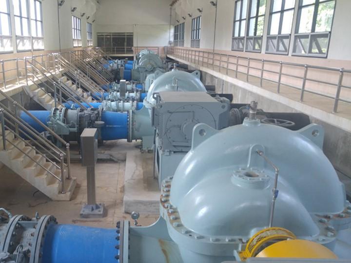 양수장 기계실